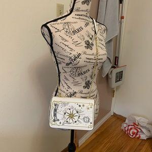 Handbags - Cute white summer crossbody bag